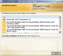 Visual Studio 2008 Setup Installation Screen